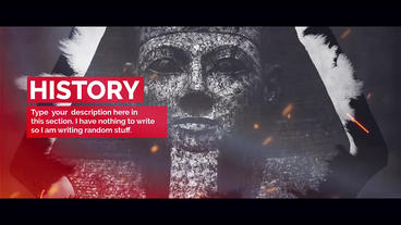 History Premiere Pro Template