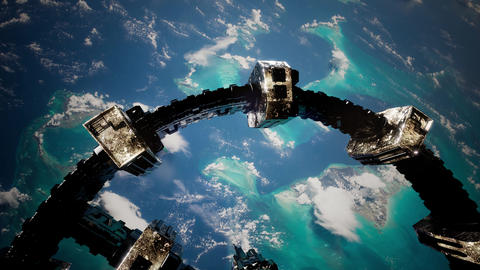 International Space Station Live Action