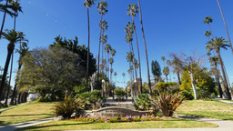 Will Rogers Memorial Park in Beverly Hills Footage
