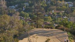 Los Angeles Hills Hikers Footage