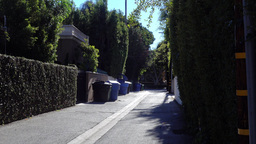 Garbage Alley Establishing Shot Footage