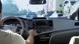 Uber Passenger View Backseat Driving Footage