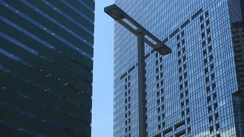 Buildings near Narukotenjin intersection at West Shinjuku ビデオ