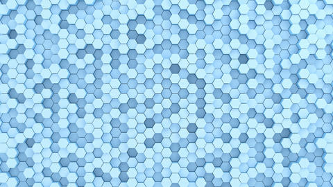 Beautiful Abstract Hexagonal Background Animation