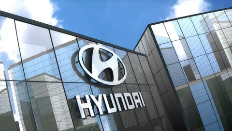Editorial, Hyundai Motor building Animation