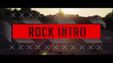 Rock Intro Plantilla de After Effects