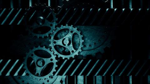 Gear Video Loop V3 Stock Video Footage
