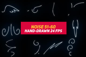 Liquid Elements 3 Noise 51-60 After Effects Template