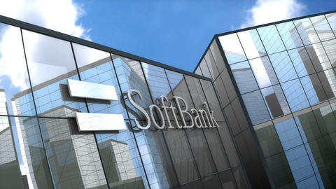 Editorial, Softbank building Animation