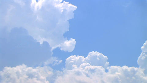 Rolling Clouds Time Lapse Stock Video Footage