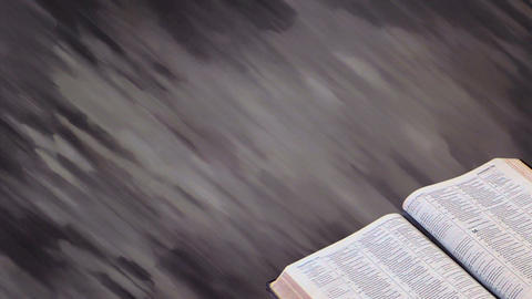 Bible with Motion Background 02 Stock Video Footage