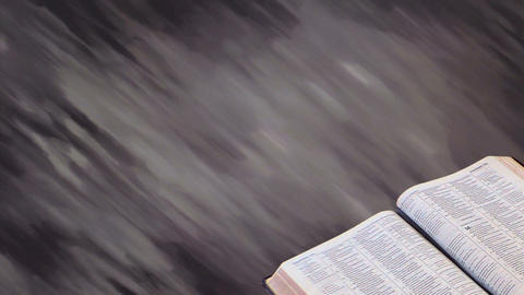 Bible with Motion Background 02 Animation