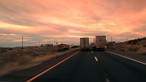 00007 Verkehr USA1 Stock Video Footage