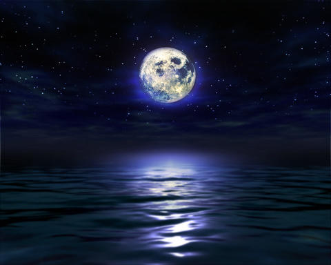 Night Moon Water 1280 Animation