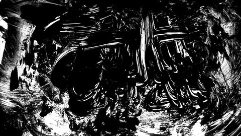 1280x1080dvpro Ink Paint Mtn3 Stock Video Footage