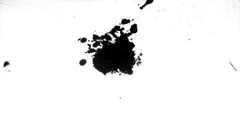 1280x1080dvpro Ink Paint Mtn11 Stock Video Footage