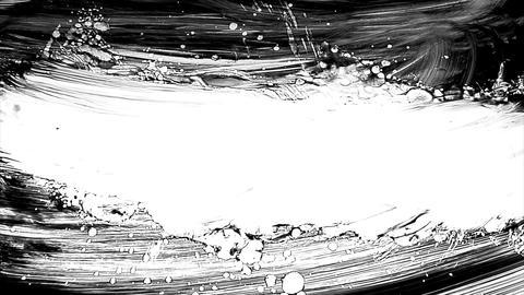 1280x1080dvpro Ink Paint Mtn15 Stock Video Footage