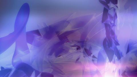 Soft Purple 3D formscape Stock Video Footage