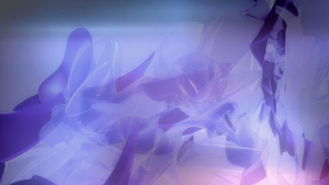 Soft Purple 3D formscape Animation