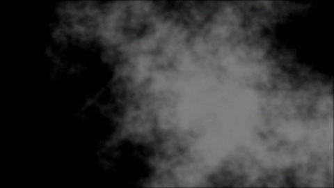Fractal Smoke Rise UP 3 Stock Video Footage