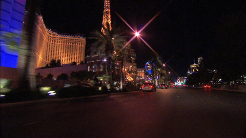 Driving Las Vegas Blvd 2 1 Footage