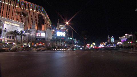 Driving Las Vegas Blvd 2 1 Stock Video Footage
