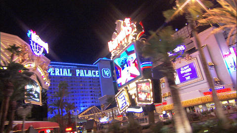 Driving Las Vegas Blvd 2A 1 Stock Video Footage