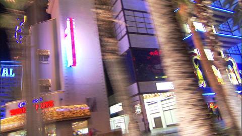 Driving Las Vegas Blvd 2A 1 Stock Video Footage
