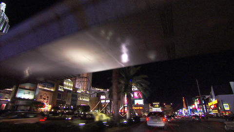 Driving Las Vegas Blvd 4 1 Footage