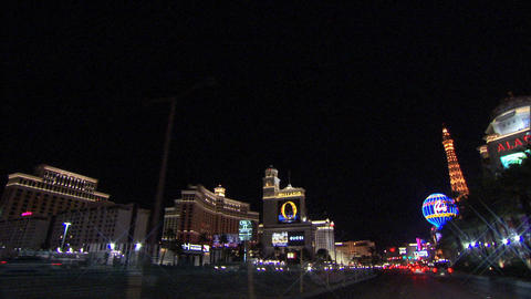 Driving Las Vegas Blvd 5 1 Footage