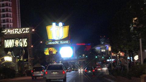 Driving Las Vegas Blvd 6 1 Stock Video Footage