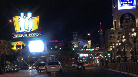 Driving Las Vegas Blvd 6 1 Stock Video Footage