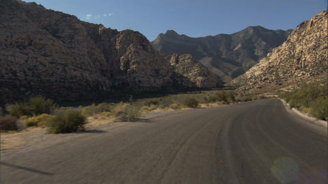 Driving Red Rock Loop 2A 1 Footage