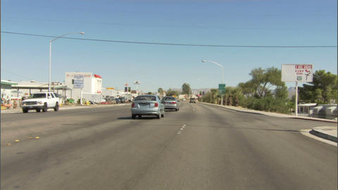 Driving Street 1 Stock Video Footage