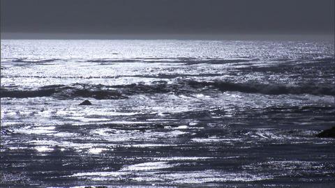 Ocean Colorless 1 Footage