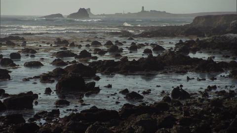 Ocean Rocks 1 Stock Video Footage