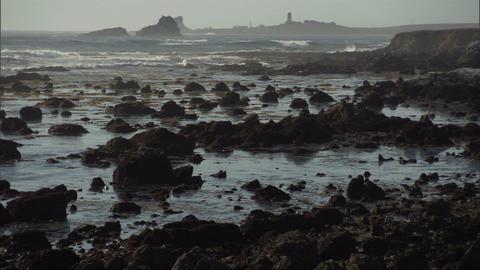 Ocean Rocks 1 Footage