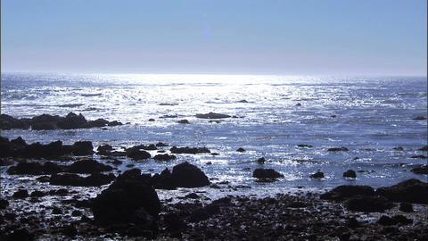 Ocean Sun 1 Stock Video Footage