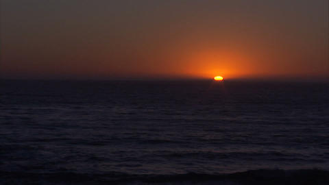Sunset Time Lapse 1 Stock Video Footage