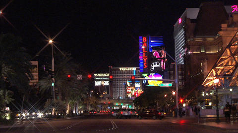 Traffic Las Vegas Blvd 1 Footage