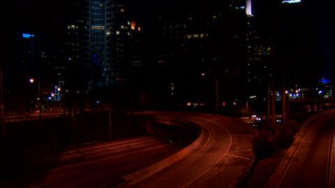 110 NS overpass Footage