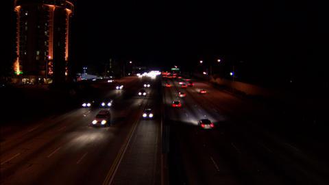 405 sunset Stock Video Footage