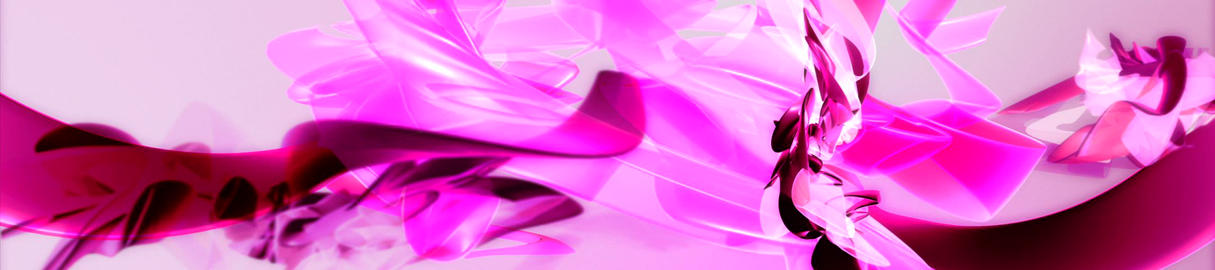 PInk 3D Organic2 Stock Video Footage