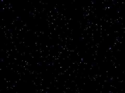 Stars 35sec regular Stock Video Footage