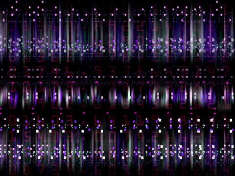 Data Blips Stock Video Footage