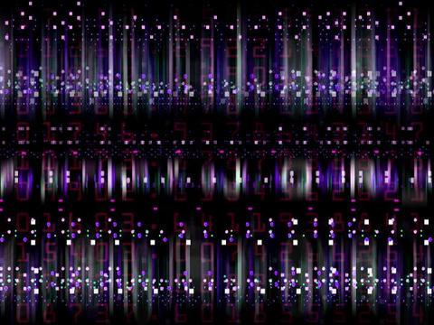 Data Blips Animation