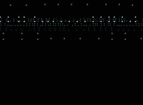 Data Blip Loop1 Stock Video Footage