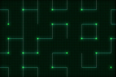 Green Grid Zoom(L) Animation