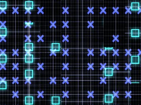 Grid Slices Animation