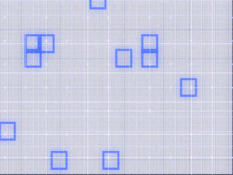 Random Grids Stock Video Footage